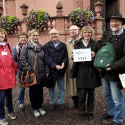 TeilnehmerInnen der kulinarischen Stadtführung